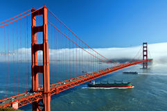 The golden gate bridge in san francisco, usa. Photo of the golden gate bridge in san francisco, usa Stock Images