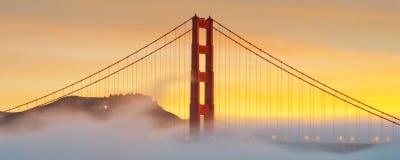 Golden gate bridge San Francisco, USA Arkivfoton