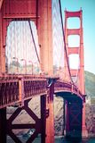 Golden Gate Bridge, San Francisco. Royalty Free Stock Photos