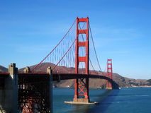 Golden Gate bridge (San Francisco, USA). Golden Gate bridge in San Francisco (California, USA Stock Image