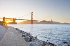 Golden Gate bridge, San Francisco, USA Stock Photography