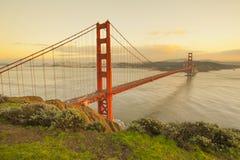 Golden Gate bridge, San Francisco, USA Stock Images
