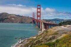 The Golden Gate Bridge, San Francisco. A view of the Golden Gate Bridge, San Francisco Stock Photo