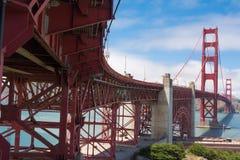 The Golden Gate Bridge, San Francisco. A view of the Golden Gate Bridge in San Francisco Royalty Free Stock Photo