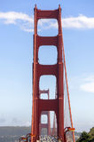 Golden Gate Bridge in San Francisco. View of the Golden Gate Bridge in San Francisco California Stock Photography