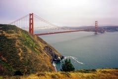 Golden Gate Bridge in San Francisco. View of Golden Gate Bridge in San Francisco, California royalty free stock photos