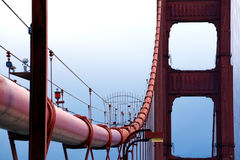 The Golden Gate Bridge in San Fransisco Stock Photography