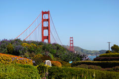 Golden gate bridge, Sanfrancisco Stock Photo