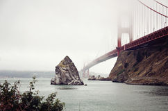 The Golden Gate Bridge. SanFransisco, CA Royalty Free Stock Image