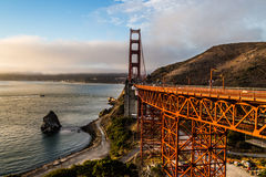 Golden Gate - The Bridge Royalty Free Stock Photography