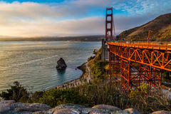 Golden Gate - The Bridge Royalty Free Stock Image