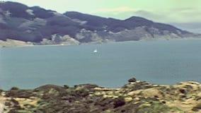 Golden gate bridge Sausalito banque de vidéos