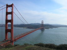 Golden gate bridge SF Images stock
