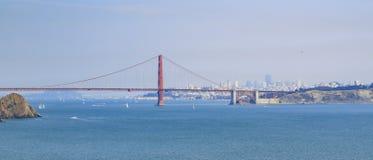 Golden Gate Bridge, SFO Royalty Free Stock Photography