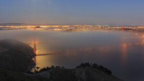 Golden Gate Bridge, SFO Stock Photography