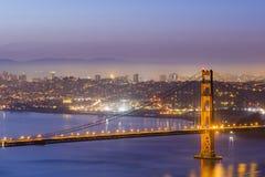 Golden Gate Bridge, SFO Stock Images