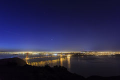 Golden Gate Bridge, SFO Royalty Free Stock Photos
