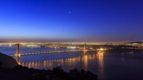 Golden Gate Bridge, SFO Stock Photo