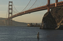 Golden Gate Bridge. Shot from the Marin Headlands over looking San Francisco Royalty Free Stock Photography