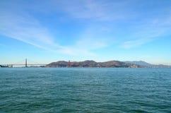 Golden gate bridge sobre a baía em San Francisco, Califórnia Imagem de Stock