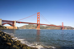 Golden Gate Bridge Span Stock Image