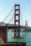 The Golden Gate Bridge at sunny weather Stock Images