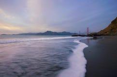 Golden Gate Bridge at Sunset Royalty Free Stock Photo