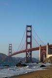 Golden Gate Bridge at Sunset, San Francisco Stock Image