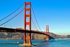 Golden Gate Bridge. Suspension Bridge Golden Gate in San Francisco Stock Photos