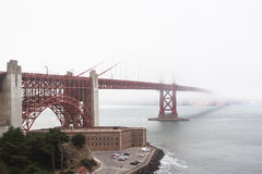The Golden Gate Bridge Royalty Free Stock Image