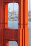 Golden Gate Bridge Tower Close Up Stock Photos