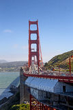 Golden Gate Bridge Traffic Royalty Free Stock Photos