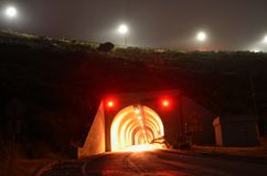 Golden Gate Bridge Tunnel stock images