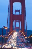 Golden Gate Bridge at twilight Royalty Free Stock Photography
