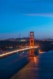 Golden Gate Bridge Twilight,San Francisco Stock Images