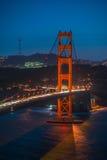 Golden Gate Bridge Twilight,San Francisco Royalty Free Stock Image