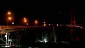 Golden gate bridge-verkeer, de reisdiversiteit van de V.S., stock footage