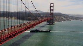 Golden Gate Bridge stock video footage