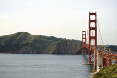 Golden Gate bridge with view to Marin County Royalty Free Stock Images