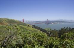 Golden gate bridge, vista da Marine Headlands, San Francisco, California, U.S.A. Immagine Stock