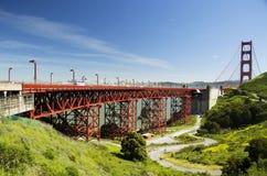 Golden gate bridge, vista da Marine Headlands, San Francisco, California, U.S.A. Immagine Stock Libera da Diritti