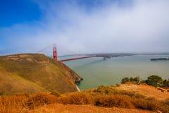 Golden Gate Bridge Vista Point Stock Photos