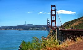 Golden Gate Bridge w San Francisco, Kalifornia usa zdjęcie stock