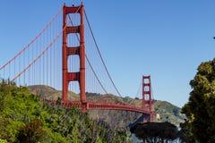Golden Gate Bridge w San Fransisco CA zdjęcie royalty free