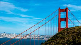 Golden Gate Bridge w San Fransisco, Kalifornia fotografia royalty free