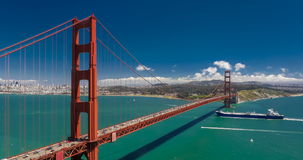Golden Gate Bridge w San Fransisco, Kalifornia, usa zbiory wideo