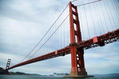 Golden Gate Bridge w San Fransisco zatoce Fotografia Stock