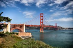The Golden Gate Bridge. Stock Image