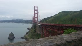 Golden Gate Brighe Royaltyfria Bilder