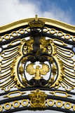 Golden Gate at Buckingham Palace Stock Photography